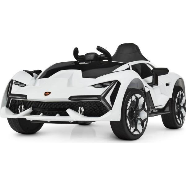 Купить Детские электро- и веломобили, Электромобиль Машина M 4115EBLR-1 белый BAMBI