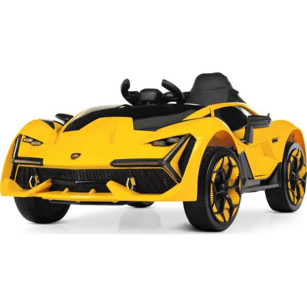 Купить Детские электро- и веломобили, Электромобиль Машина M 4115EBLR-6 желтый BAMBI