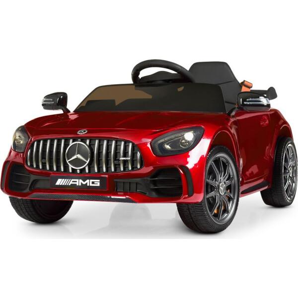 Купить Детские электро- и веломобили, Электромобиль Машина M 4181EBLRS-3 красный BAMBI