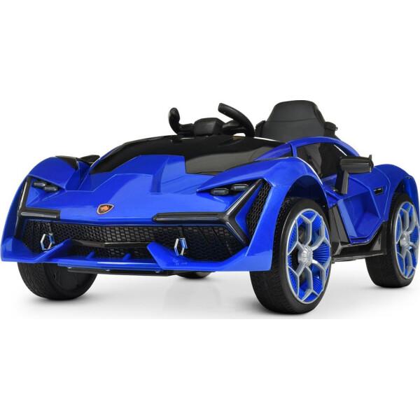 Купить Детские электро- и веломобили, Электромобиль Машина M 4115EBLR-4 синий BAMBI