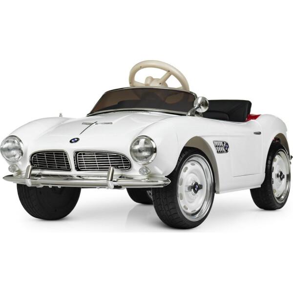 Купить Детские электро- и веломобили, Электромобиль Машина M 4169EBLR-1 белый BAMBI