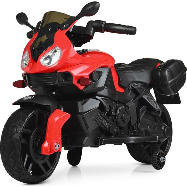 Электромобиль Мотоцикл M 4080EL-3 красный BAMBI