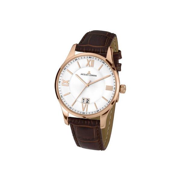 Купить Наручные часы, Часы Jacques Lemans 1-1845Q London Herren 40mm 10ATM