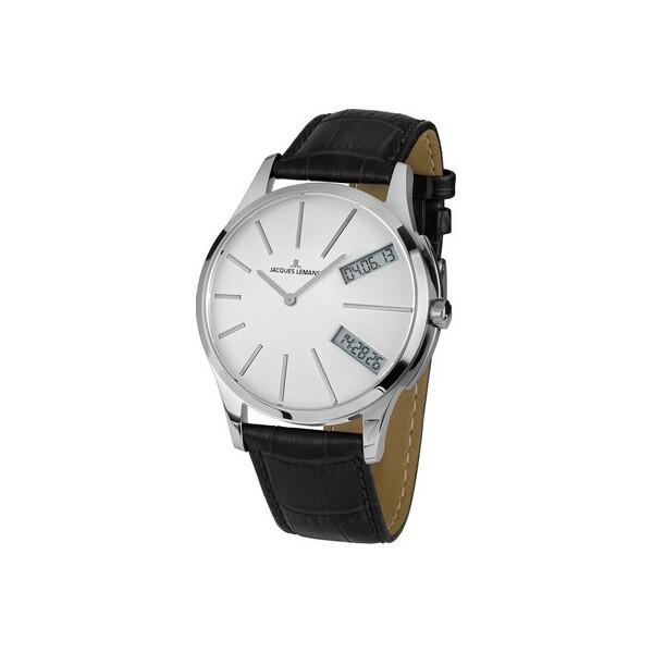 Купить Наручные часы, Часы Jacques Lemans 1-1813B London Herren 46mm 5ATM