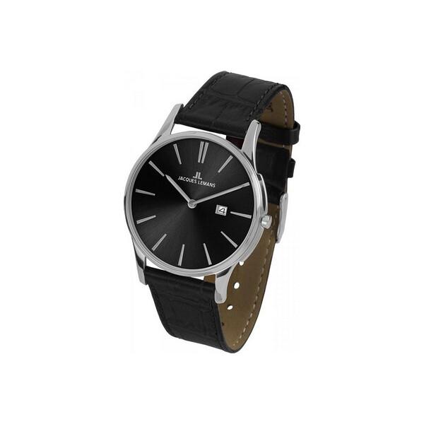 Наручные часы, Часы Jacques Lemans 1-1936A London Herren 40mm 5ATM  - купить со скидкой