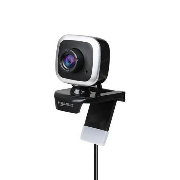 Веб камера HXSJ A849 Black + Silver USB 2.0 480P с встроенным микрофоном (F_7868-25785)