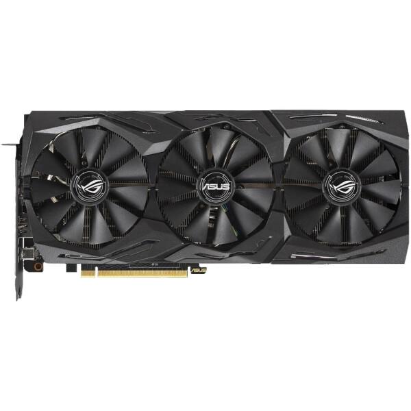 Купить Видеокарты, Asus PCI-Ex GeForce RTX 2070 Super ROG Strix 8GB GDDR6 (256bit) (1605/14000) (USB Type-C, 2 x HDMI, 2 x DisplayPort) (ROG-STRIX-RTX2070S-A8G-GAMING)