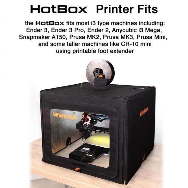NN / МФУ Wham Bam HotBox V2 obudowa drukarki 3D (WHOT002)