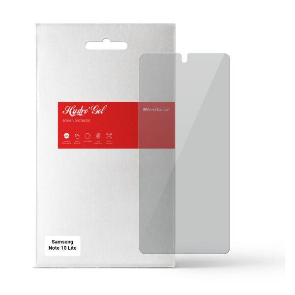 Гидрогелевая пленка Armorstandart Anti-spy для Samsung Note 10 Lite (ARM58866) Transparent