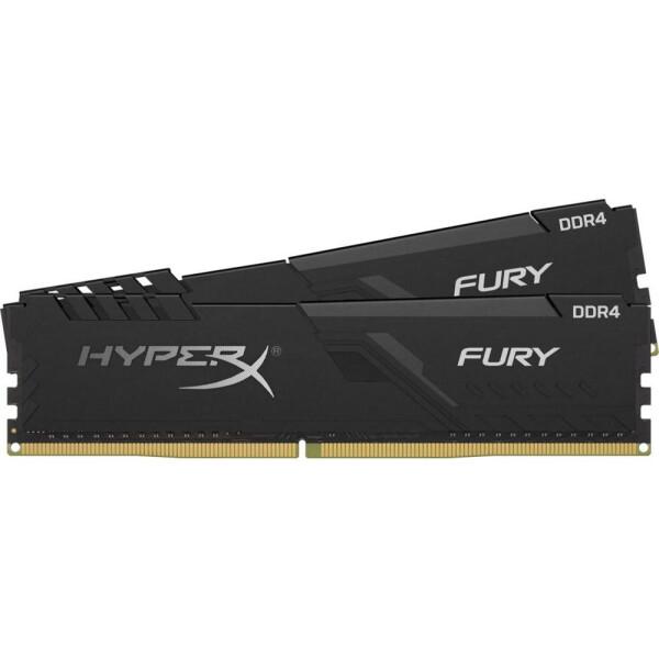 Купить Оперативная память, DDR4 2х32GB/2666 Kingston HyperX Fury Black (HX426C16FB3K2/64)
