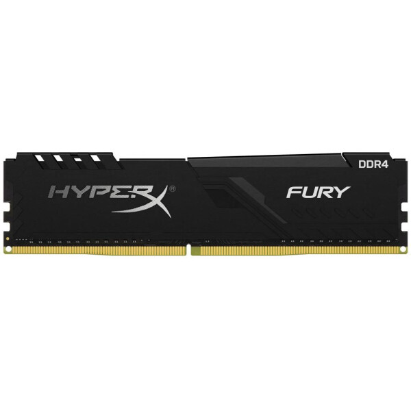 Оперативная память, DDR4 32GB/2666 Kingston HyperX Fury Black (HX426C16FB3/32)  - купить со скидкой