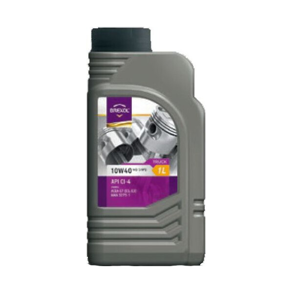 Купить Моторные масла, Brexol TRUCK MB 10W-40 1 л (48391050987)