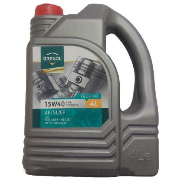 Купить Моторные масла, Brexol TRUCK SUPERIOR 15W-40 4 л (48391050996)