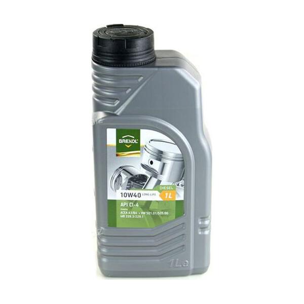 Купить Моторные масла, Brexol TECHNO 10W-40 1 л (48391051009)