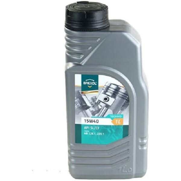 Купить Моторные масла, Brexol TECHNO 15W-40 1 л (48391051018)