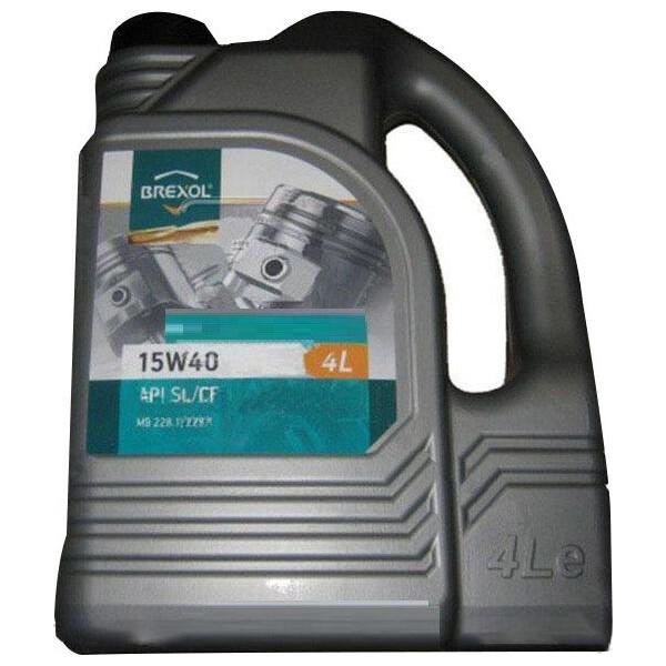 Купить Моторные масла, Brexol TECHNO 15W-40 4 л (48391051019)