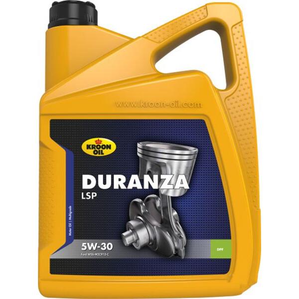 Купить Моторные масла, KROON OIL DURANZA LSP 5W-30 5 л (KL34203)