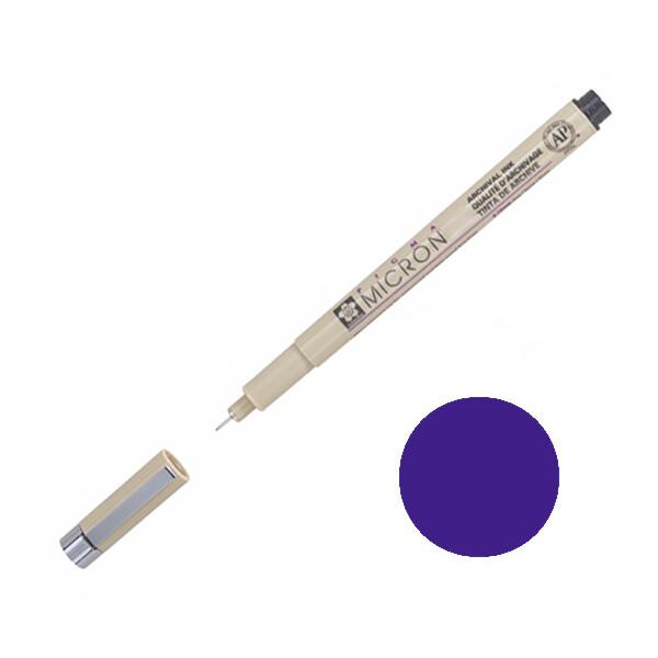 Купить Наборы для творчества и рукоделия, Лайнер Sakura Pigma Micron 0.5 мм Фиолетовый (XSDK05#24)