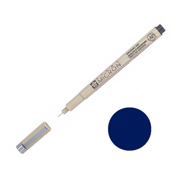 Купить Наборы для творчества и рукоделия, Лайнер Sakura Pigma Micron 0.05 мм Синий (XSDK005#36)
