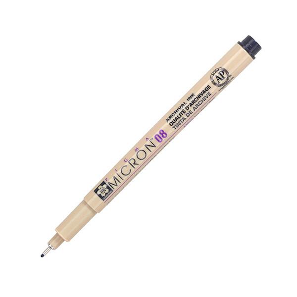 Купить Наборы для творчества и рукоделия, Лайнер Sakura Pigma Micron 0.8 мм Черный (XSDK08#49)