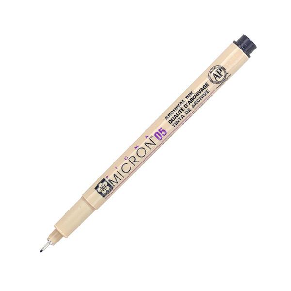 Купить Наборы для творчества и рукоделия, Лайнер Sakura Pigma Micron 0.5 мм Черный (XSDK05#49)