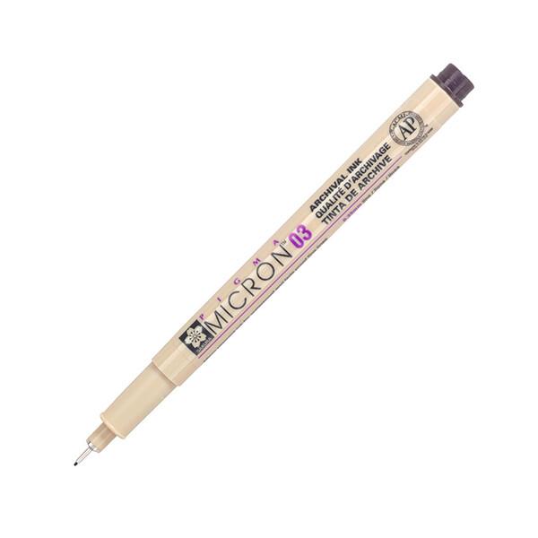 Купить Наборы для творчества и рукоделия, Лайнер Sakura Pigma Micron 0.3 мм Черный (XSDK03#49)