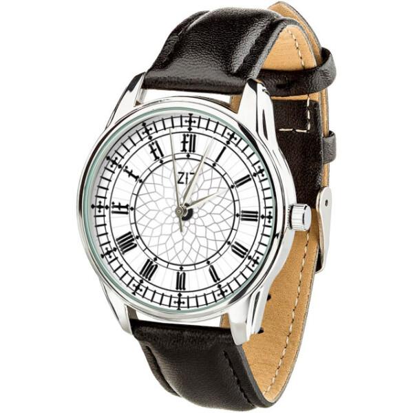 Купить Наручные часы, Часы ZIZ Биг Бен ремешок насыщенно-черный серебро дополнительный ремешок (4604253)