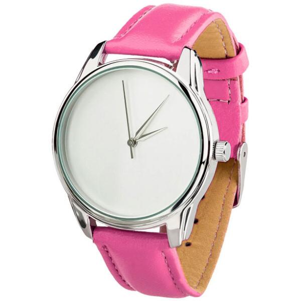 Купить Наручные часы, Часы ZIZ Минимализм ремешок малиновый серебро дополнительный ремешок (4600290)