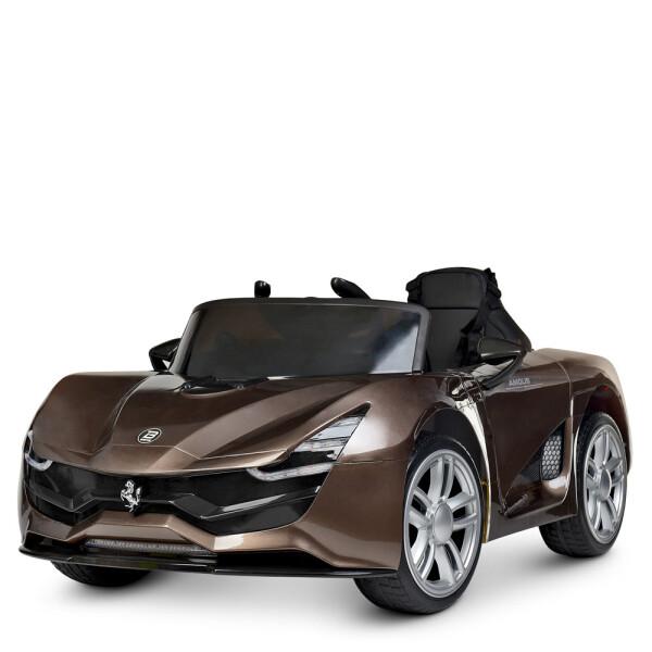 Купить Детские электро- и веломобили, Электромобиль BAMBI Машина M 4203EBLRS-13 коричневый
