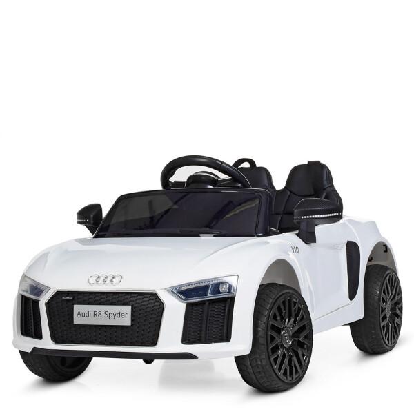 Купить Детские электро- и веломобили, Электромобиль BAMBI Машина M 4281EBLR-1 белый