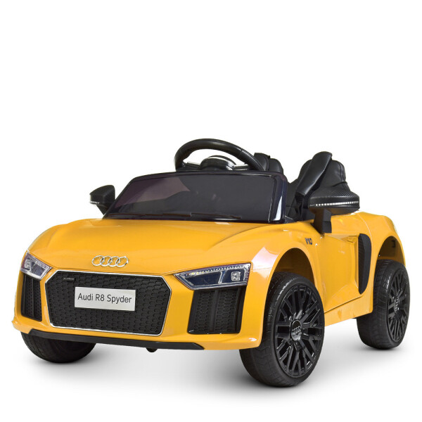 Купить Детские электро- и веломобили, Электромобиль BAMBI Машина M 4281EBLR-6 желтый
