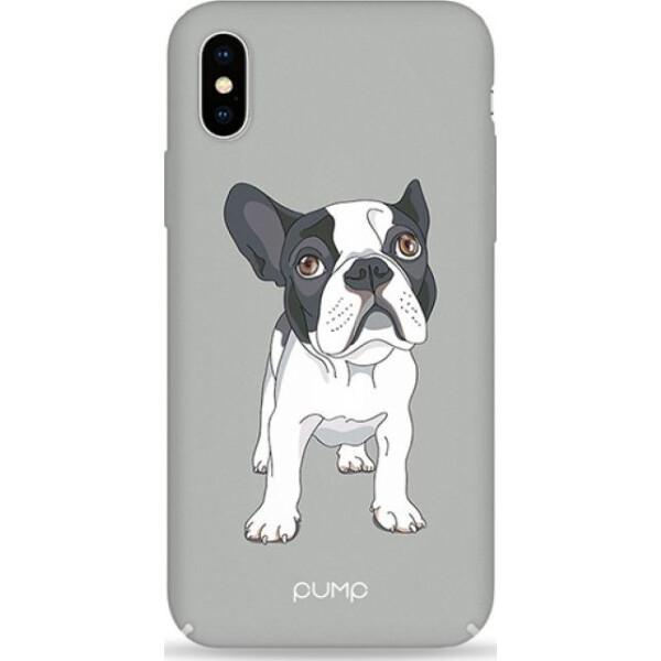 Купить Чехлы для телефонов, Pump Tender Touch Case чехол для iPhone X/XS Mops on Gray