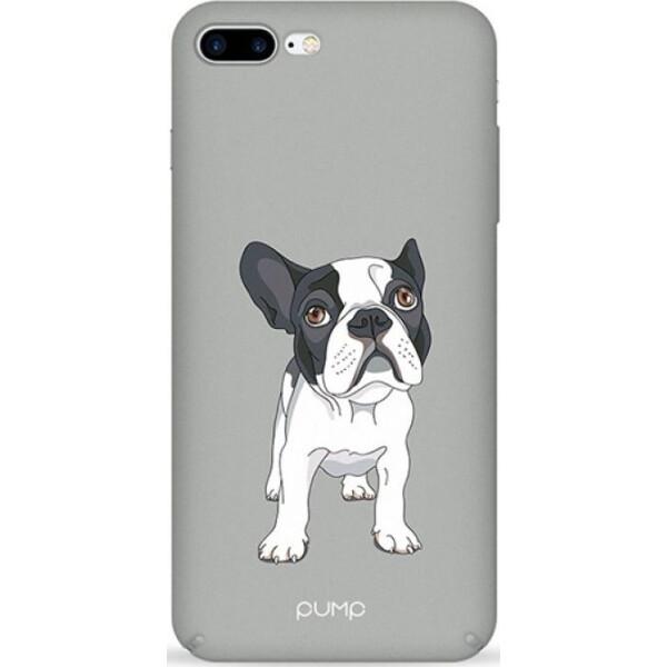 Купить Чехлы для телефонов, Pump Tender Touch Case чехол для iPhone 8 Plus/7 Plus Mops on Gray
