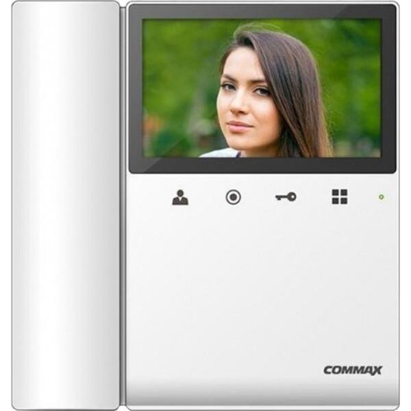 Видеодомофоны, Видеодомофон Commax CDV-43K2 White  - купить со скидкой