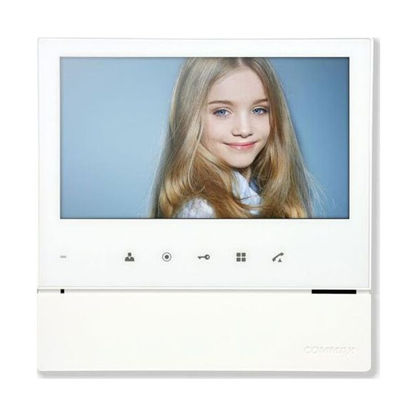 Купить Видеодомофоны, Видеодомофон Commax CDV-70H2 White