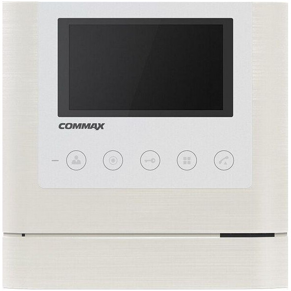 Купить Видеодомофоны, Видеодомофон Commax CDV-43M White + Pearl