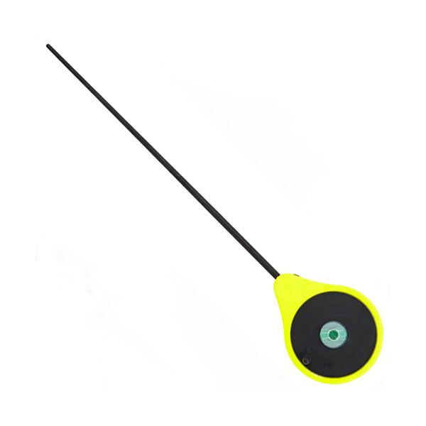 Купить Удилища, Удочка зимняя балалайка Lucky John Mormax желтая 45mm 24.6cm (LJ103-01)
