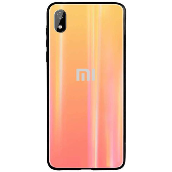 Купить Чехлы для телефонов, TPU+Glass чехол Gradient Aurora с лого для Xiaomi Redmi 7A, Epik