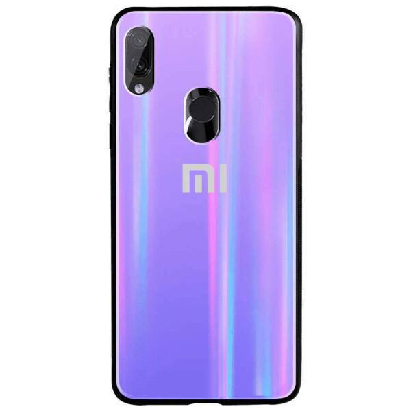 Купить Чехлы для телефонов, TPU+Glass чехол Gradient Aurora с лого для Xiaomi Redmi 7, Epik