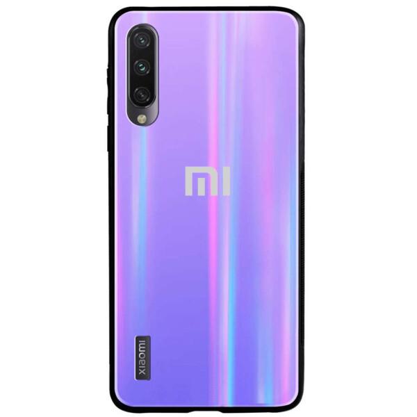 Купить Чехлы для телефонов, TPU+Glass чехол Gradient Aurora с лого для Xiaomi Mi A3 (CC9e), Epik