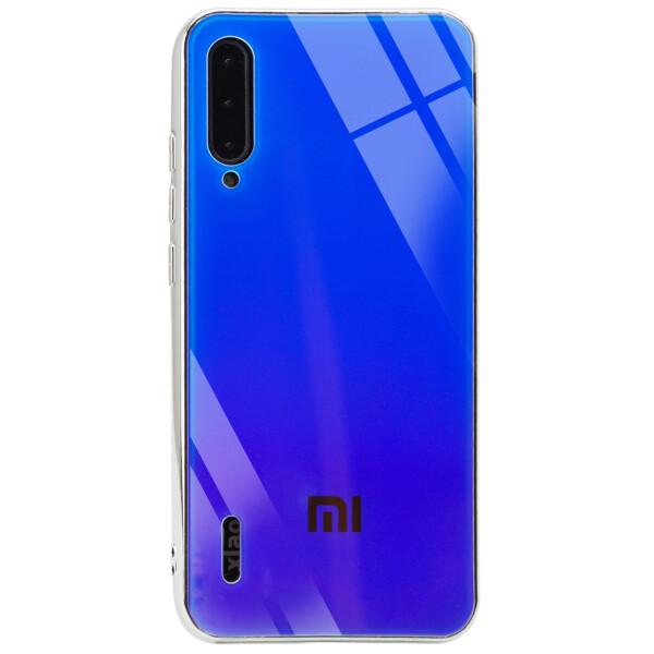 Купить Чехлы для телефонов, TPU+Glass чехол Gradient Rainbow с лого для Xiaomi Mi CC9 / Mi 9 Lite, Epik