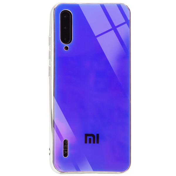 Купить Чехлы для телефонов, TPU+Glass чехол Gradient Rainbow с лого для Xiaomi Mi A3 (CC9e), Epik
