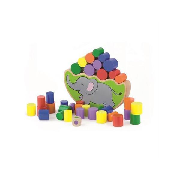 Развивающая игра Viga Toys Балансирующий слон (50390)
