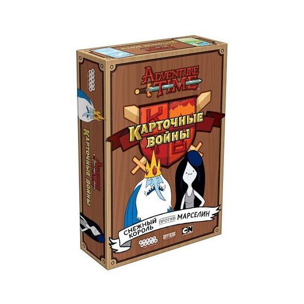Купить Настольные игры, Настольная игра Время приключений: Карточные войны. Снежный король против Марселин, Hobby World