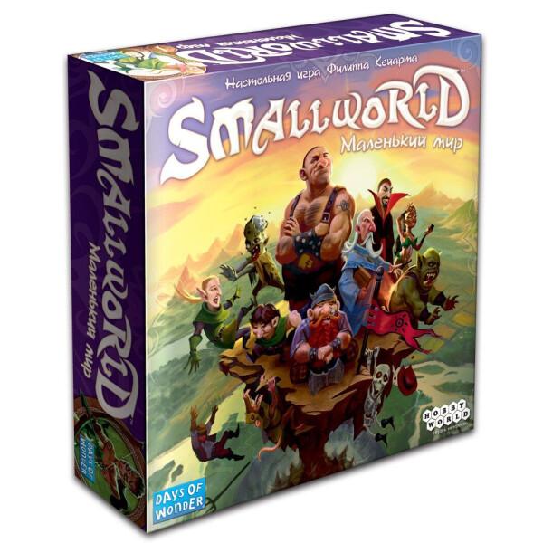Купить Настольные игры, Настольная игра Small World: Маленький мир, Hobby World