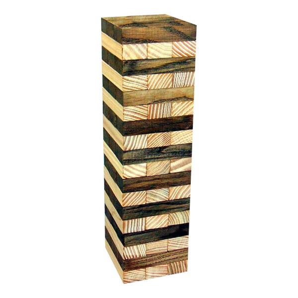Купить Настольные игры, Настольная игра Дженга двухцветная 54 бруска Крутиголовка дерево (krut_0278)