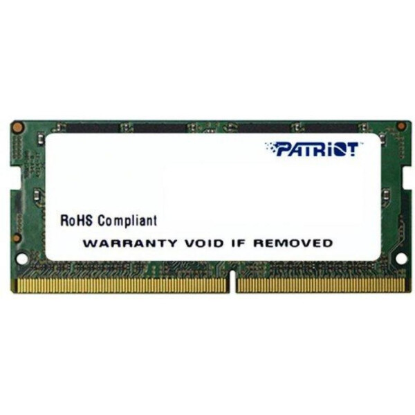 Купить Оперативная память, PATRIOT DDR4 2400 16GB SO-DIMM (PSD416G24002S)