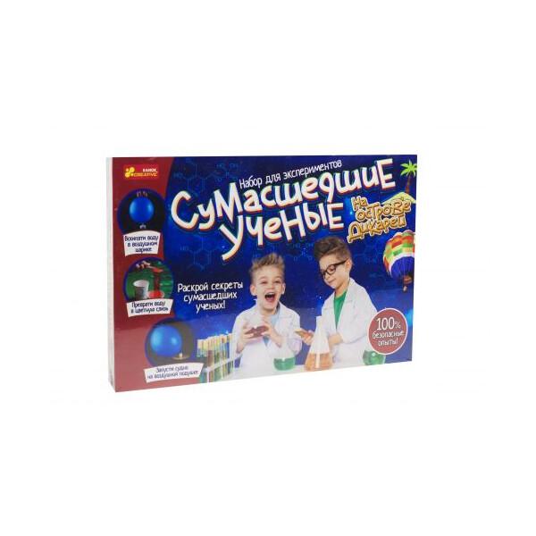 Купить Настольные игры, Набор для экспериментов Сумасшедшие ученые на острове дикарей (TOY-44575), NN