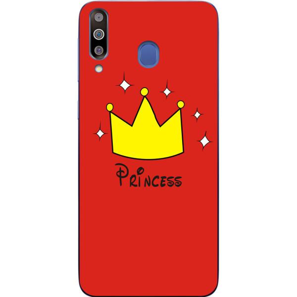 Купить Чехлы для телефонов, Чехол силиконовый Amstel для Samsung M30 2019 Galaxy M305 с картинкой Принцесса