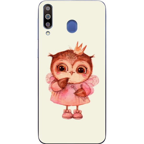 Купить Чехлы для телефонов, Бампер силиконовый чехол Amstel для Samsung M30 2019 Galaxy M305 с картинкой Совушка принцесса